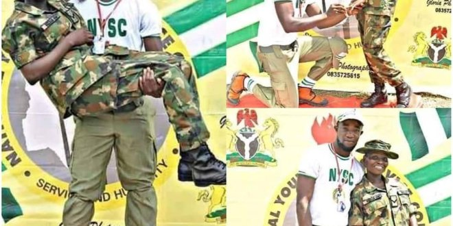 NYSC Member Engage a Female Soldier in Ebonyi State