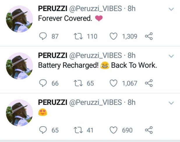 After Several Speculations, Peruzzi Confirms Dating Rumours With Cee C