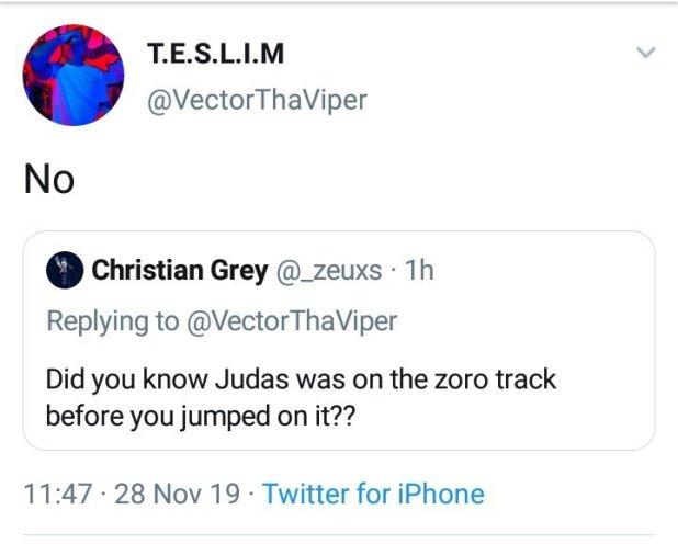 I Never Knew MI Abaga Was on Zoro