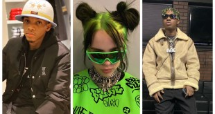"Billie Eilish listening To Tekno and Zlatan ""Agege"" (Video)"