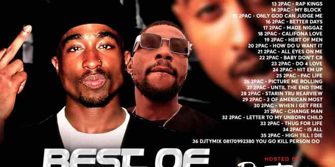 Dj Tymix - Best Of 2Pac Mix