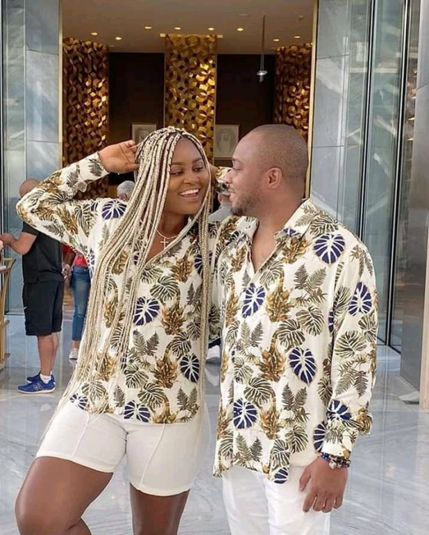 Nollywood actress Chacha Ike shares adorable honeymoon pictures with husband