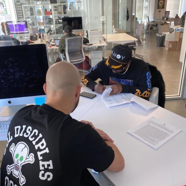 Wow! Olamide signs publishing deal with Empire (PHOTOS) | LEGIT9JA - Music  and More