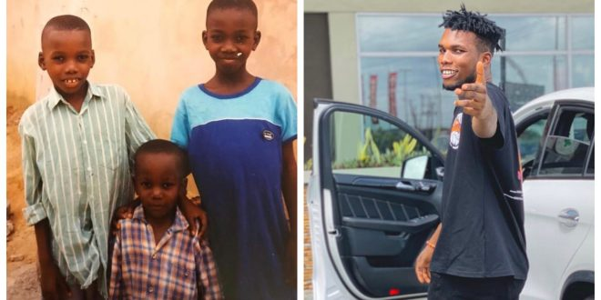 Victor Ad shares Major Throwback Pictured with Brother and Sister