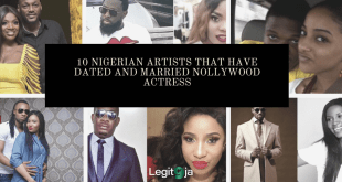 10 Nigerian Artists that have Dated and Married Nollywood Actresses