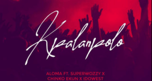 """AMW Honcho Aloma is here again with a new song titled """"Kpalanpolo"""". On this Aloma teamed Up with Talented Acts Superwozzy, Chinko Ekun & Idowest."""
