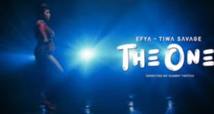 VIDEO: EFYA feat. Tiwa Savage - THE ONE