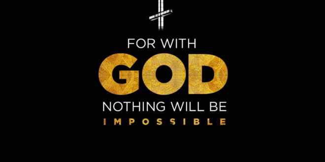 Doublesound Gospel - For With God Nothing Will Be Impossible