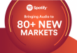 Spotify To Be Available In Nigeria, As Streaming Platform Announce Expansion Across 80+ new markets