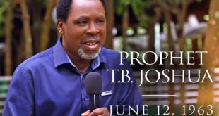 SAD! Prophet TB Joshua Confirmed Dead At Age 57