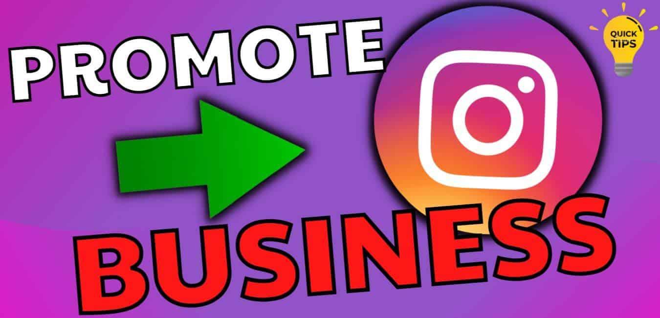 promote instagram business profile