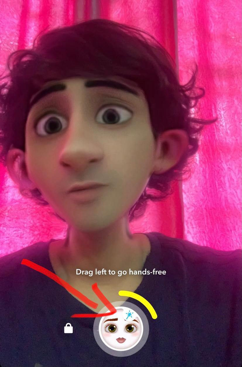 how to do the disney filter