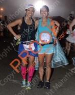Met up with my sister before the race - 2014 Princess Half Marathon