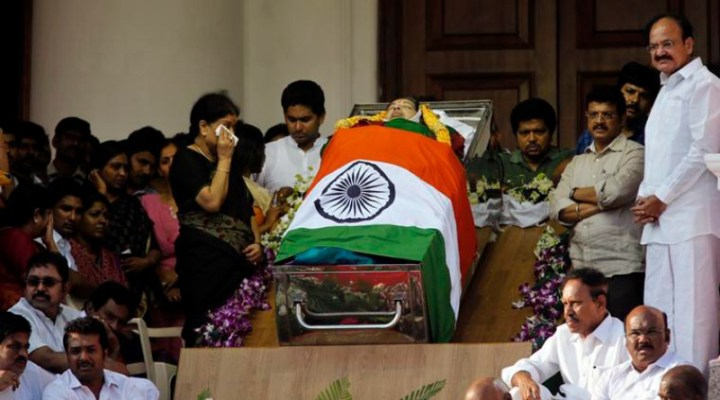 Jayalalithaa will be Laid to Rest at 4.30pm