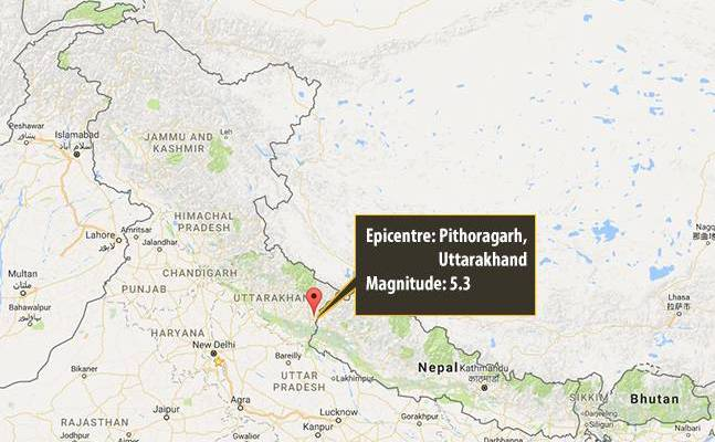 5.8 magnitude earthquake jolts north India