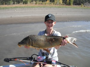My first carp ever!
