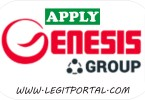 genesis group ng vacancy