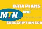 mtn subscription code