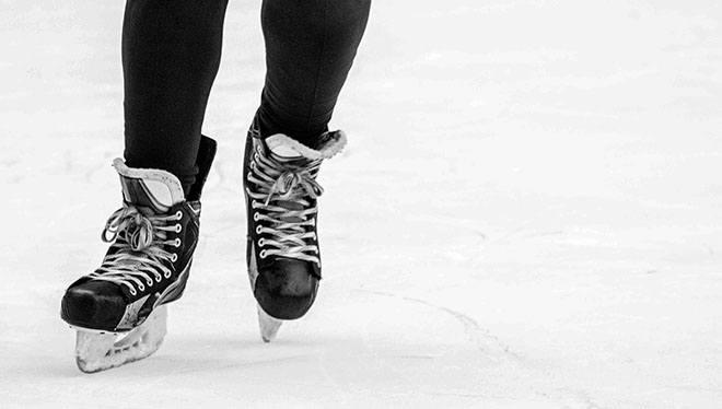 Mænds skøjter.