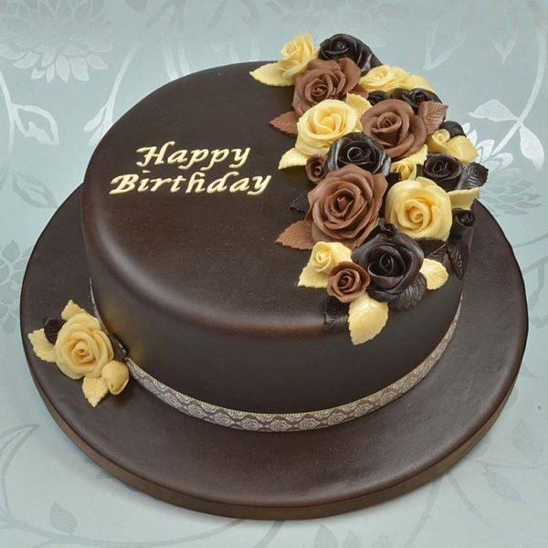 Çikolata mastik kek