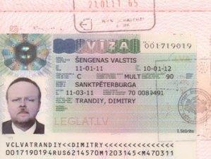Шенгенская виза в Латвию - однократная и многократная