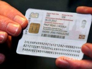 Удостоверение личности Латвии - eID, ID-карта, ИД карта