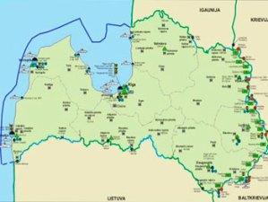 В 2011 году увеличился поток туристов в Латвию