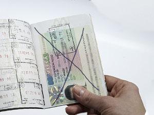 Аннулирование визы на границе и отказ во въезде - 2013