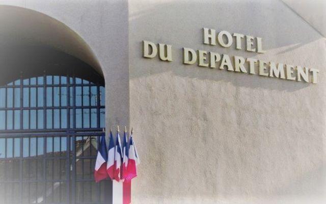 La facade du Département de la Mayenne