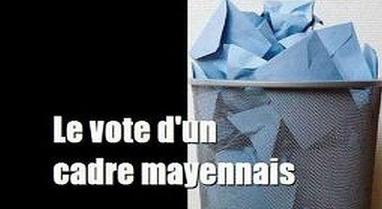 le vote d'un mayennais