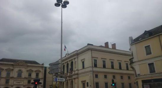 Une vue de la maire de Laval en Mayenne