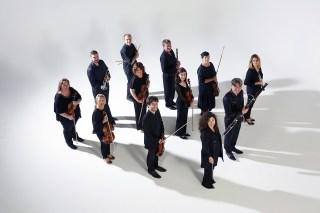 La photographie de l'Ensemble instrumental de la Mayenne pour la saison 2018-2019. (photo © Prisma Laval)
