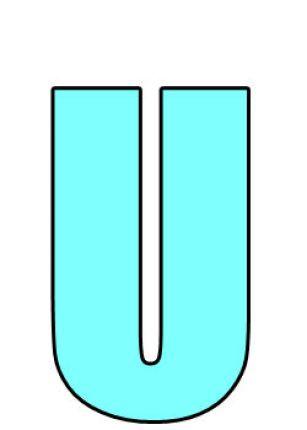 La belle lettre U sur leglob-journal