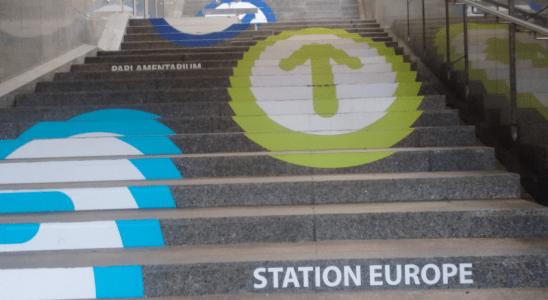 Un chemin qui mène à l'Europe