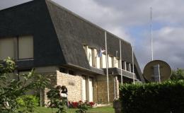la mairie de Saint Berthevin en Mayenne