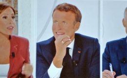 Macron à la télé