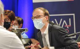 Le président Florian Bercault a Laval Agglo