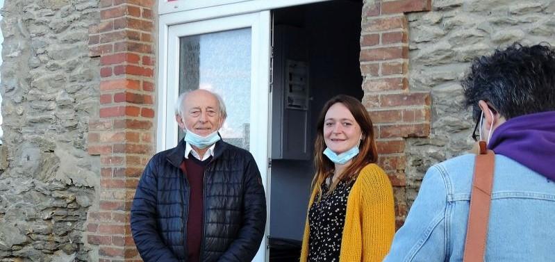 Les deux co-secrétaire du PCF en Mayenne