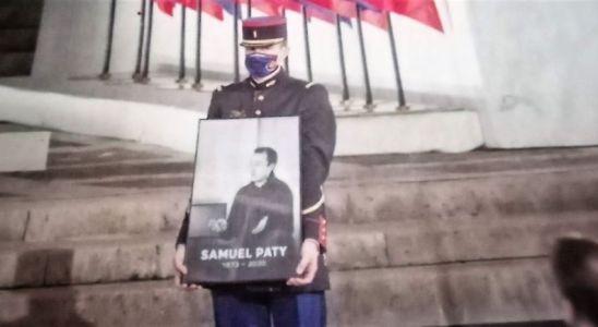 Samuel Paty icone de la République