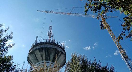 Pose d'une antenne relais télécom en Mayenne