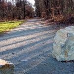 Le chemin de Kolbingen à L'Huisserie