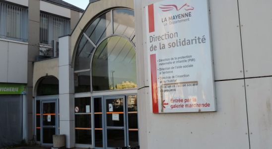 L'entréé du centre Murat à Laval où se trouve la Direction de la Solidarité
