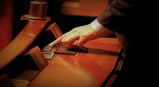 Voter pour ou contre a l'Assemblée nationale