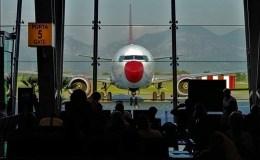 l'Aeroport de Tirana en Albanie