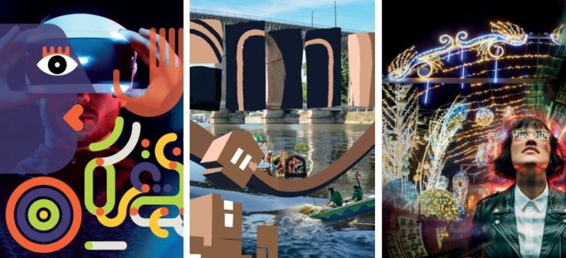les images de candidature de Laval pour le label Capitale Culturelle 2022