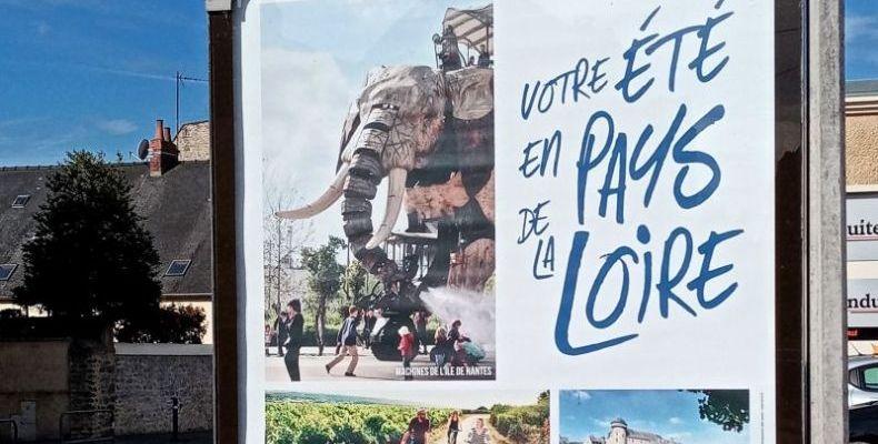 Une campagne de Pub de la Region Pays de la loire
