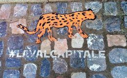 L'embleme de Laval pour la capitale française de la culture 2022