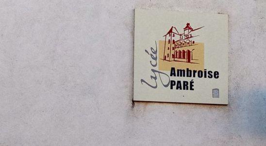 le logo du lycée Paré à Laval