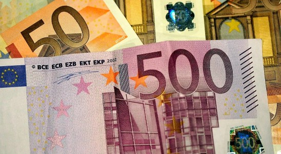 Des billets en euros
