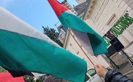Gaza Palestine : Manifestation de soutien au peuple de Gaza